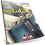 Dékokind® Blanko Notizbuch: Ca. A4-Format • 100 Seiten mit Inhaltsverzeichnis • Perfekt als Zeichenbuch, Skizzenbuch oder Tagebuch • ArtNr. 04 Fernweh • Softcover