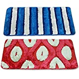 #10: Story @ Home Set Of 2 Pcs Doormat Red and Blue