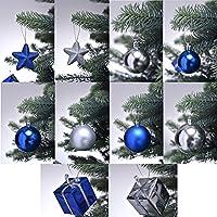Weihnachtsbaum deko blau