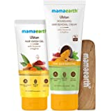 Mamaearth Ubtan Nourishing Hair Removal Cream Kit, for Sensitive Skin, Made Safe Certified with Turmeric & Saffron, with Hair