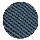 Clayre & Eef TLS48BL Twinkle Little Star Küchentuch Geschirrtuch Geschirrhandtuch blau ca. Ø 80 cm
