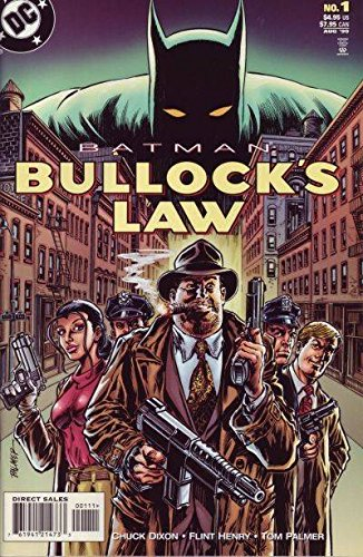 BATMAN: BULLOCKS LAW : No.01