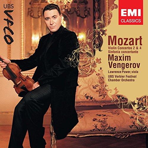 MOZART - Violin Concertos 2, 4 - Sinfonia concertante