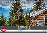 Downhill Action (Tischkalender 2019 DIN A5 quer): Mit dem Bike in Action und am Limit, das ist Downhill (Geburtstagskalender, 14 Seiten ) (CALVENDO Sport)