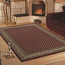 Teppich Wohnzimmer Orient Carpet Klassisches Design MARRAKESH RUG 80x150 Cm RED