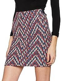TOM TAILOR Damen Rock Fancy Jaquard Skirt