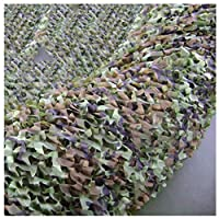 Yunyisujiao Camouflage Net Jungle Leaf Shape 150D Oxford Cloth Theme Park Film And Television Base CS Field Game Simulation Decorative Photography Shade Net Multi-size Optional (Color : 3 * 4M)