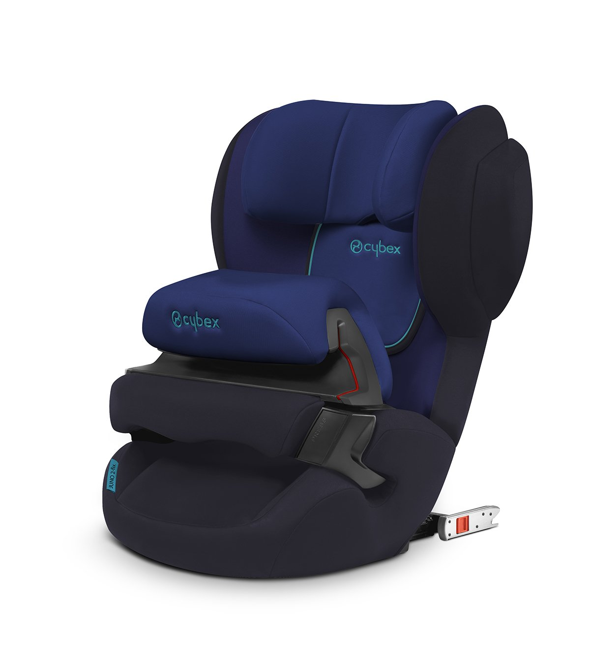 Cybex Silver Juno 2-Fix Child's Car Seat, for Cars with ISOFIX, Car Seat Group 1 (9-18 kg), Blue Moon Cybex Gr. 1, 9 - 18 kg, from approx. 9 months up to 4 years Test winner in the european child car seat test 11/2013 Adjustable impact shield 1