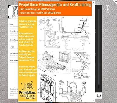 Fitnessgeräte und Krafttraining: Deine Projektbox inkl. 268 Original-Patenten bringt Dich mit Spaß hinter die Geheimnisse der Technik!