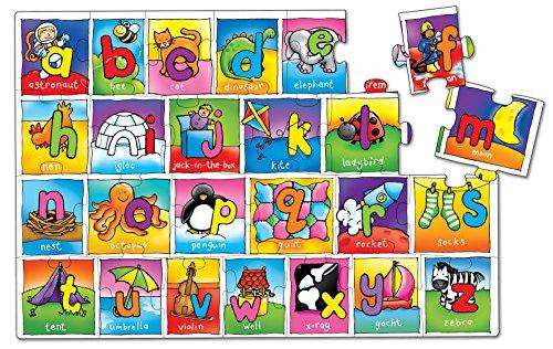 Imagen principal de Orchard Toys - Puzzle del alfabeto, 26 piezas (EY13)
