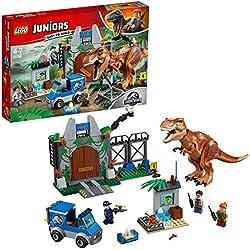 Lego Juniors Set Mattoncini L'evasione del T. Rex, 10758