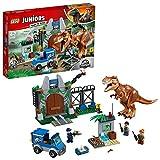LEGO  Juniors Ausbruch des Tyrannosaurus Rex 10758 Konstruktionsspielzeug