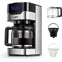 Aicook Macchina Caffè, Macchina per Caffè Americano Programmabile con Indicatore LED Pulsanti Touch, Intensità dell…