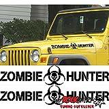 Zombie Hunter 70cm MRS.78 Aufkleber Tuning Auto Autoaufkleber freigestellt `+ Bonus Testaufkleber