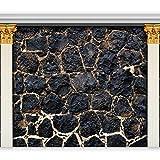 murando - Fototapete 400x280 cm - Vlies Tapete - Moderne Wanddeko - Design Tapete - Wandtapete - Wand Dekoration - Steine Ziegelstein Stein Mauer 3D f-A-0543-a-a
