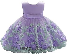 478825216a K-youth Vestido Niña Vestido de Encaje Sin Mangas Tutú Princesa Vestido  Bebé Niña Verano