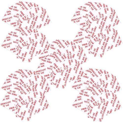 Flashwoife 50 Stück (5x10) Antibeschlag Anti Fog-Pads Einsätze Inserts universal kompatibel mit Unterwassergehäuse von Sony, EasyPix, Actionpro, Somikon, Qumox, Gopro Hero, Rollei, Polaroid und weitere