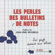 Les Perles des bulletins de notes