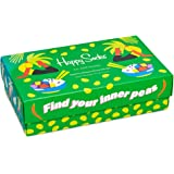 Happy Socks Calcetines Unisexo Healthy Lifestyle Gift Box Paquete de 3 Tamaño 41-46