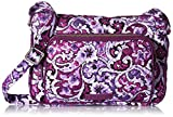 Best Vera Bradley Lilacs - Vera Bradley Iconic Rfid Little Hipster-Signature, Lilac Paisley Review