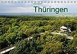 Thüringen (Tischkalender 2018 DIN A5 quer): Thüringens schönste Städte und Landschaften. (Monatskalender, 14 Seiten ) (CALVENDO Orte) [Kalender] [Apr 01, 2017] Gerhard, Oliver - Oliver Gerhard