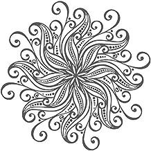 IncredibleWallDecals Mandala Pared Pegatinas Adhesivos Indio patrón Yoga  Oum Om Signo Vinilo Adhesivo decoración del hogar 5685701a05f3