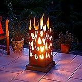 Feuerkorb Burning Fire, rechteckig