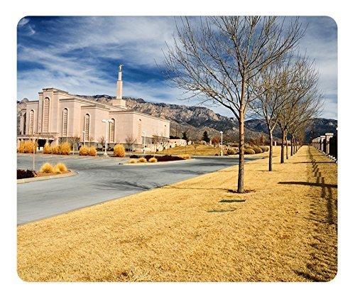 Albuquerque New Mexico (Albuquerque New Mexico) LDS Tempel Maus Pad-langlebig Office Zubehör Desktop Laptop Mousepad und Geschenke Gaming Maus Pads)