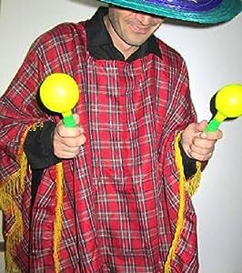 Mondial-fete - Poncho péruvien