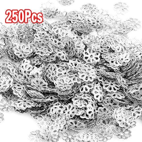 250X Metall Spacer Perle Zwischenperlen Metallperlen Metall-perlen