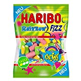 Haribo Rainbow Fizz, Gummibärchen, Weingummi, Fruchtgummi, Sauer, 175 g