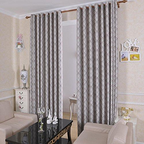 Met Love Klassische Gestreifte Schräge Gitter Boden Vorhänge Schlafzimmer Vorhänge  Verdunkelungs Vorbereitete