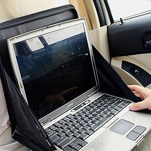 Preisvergleich Produktbild Design61 Autorücksitz Tasche Tisch Kinder Organizer für Tablet-PCs Laptops Notebooks Tisch Ablagefläche Arbeitstisch Organizer in Schwarz