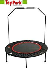 Toy Park Folding Fitness Trampoline with Stability Bar (40-inch)