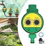 KING DO WAY Bewässerungs System automatischer Timer tropfbewässerung wasser timer garten gießen controller mit Universalverbinder bewässerung zuhause