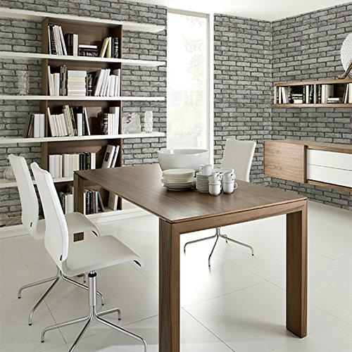 Zhzhco Pvc-Gepolsterte Wasserfeste Selbstklebende Tapete Möbel Aufkleber Küche, Schrank, Schränke Renovierung Aufkleber 1,22 M Breit Und 2 M Lang