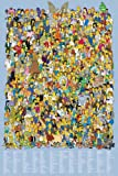 empireposter - Simpsons, The - Cast Names - Größe (cm), ca. 61x91,5 - Poster, NEU -