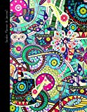 Garden Planner and Journal: Calendar and Diary for 1 Year, Starting Any Time (A soft covered large notebook with a decorative black & white interior ... range) (Gardening Gifts & Presents, Band 3)