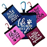 Dog Treat Bag - Dog Training Waterproof Pocket Version With Carabiner Which Will Clip On Dog Leads - Funny Dog Quotes
