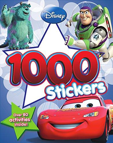 Disney Pixar 1000 Sticker Book