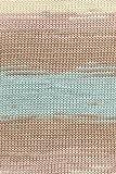 Lang Yarns Sol Degrade Bändchengarn Fb. 172 Beige Hellbraun Hellblau aus 100 % Baumwolle