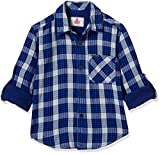 UFO Boys' Shirt (AW17-WF-BKT-1153 ROYAL BLUE (14 Yrs))