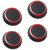 Fosmon Silicone Thumb Stick Analog Controller Grip Caps (4 pack / 2 Pair) Compatible with PS4,…