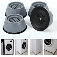 DOZZBY with DB 4Pc Anti Vibration Pads for Washing Machine and Dryer Shock Absorber Noise Cancelling Washer Support Anti…