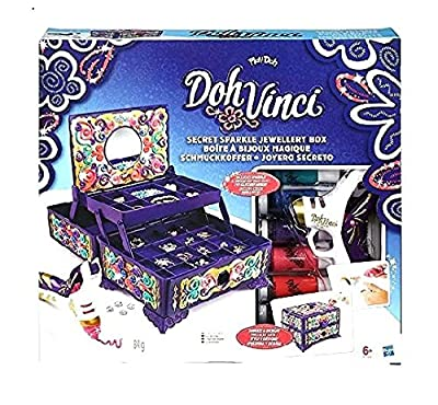 Doh-Vinci Secret Sparkle Jewellery Box Kit