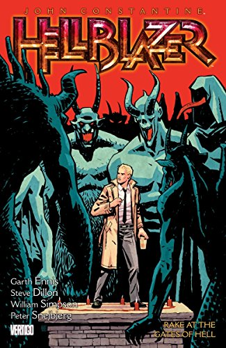 John Constantine Hellblazer Volume 8: Rake at the Gates of Hell TP Cover Image