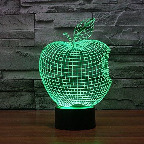 apple-colore-3d-visual-illusion-de-lumiere-de-nuit-en-trois-dimensions-toucher-leger-interrupteur-la