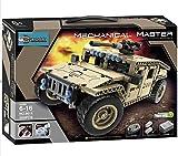 dreamlock Hummer Sable R/C 8014 TELECOMMANDE à Construire 502 pcs