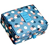 FASTUNBOX (LABEL) Travel Cosmetic Makeup Case Wash Organizer Storage Pouch Travelling Organizer Travel Bag Travel for Women I