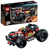 LEGO 42073 Technic BASH Racing Car Toy, Powerful pull- back motor, High Speed Action, 2 in 1 Advanced Building Set